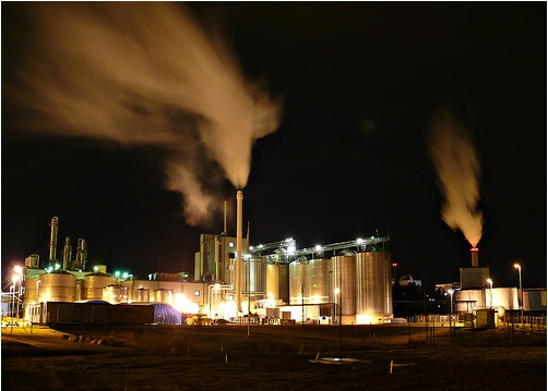 Ethanol Fuel Power Plant outside Norrköping